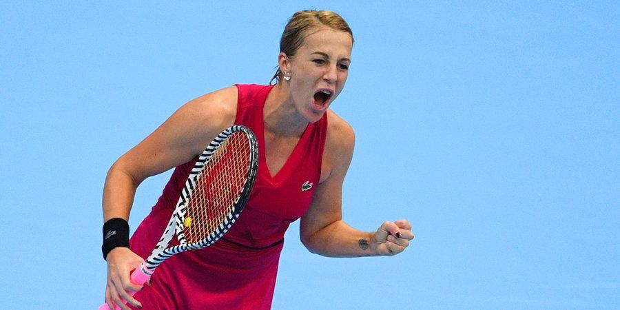 Павлюченкова высказалась о создании фонда помощи теннисистам