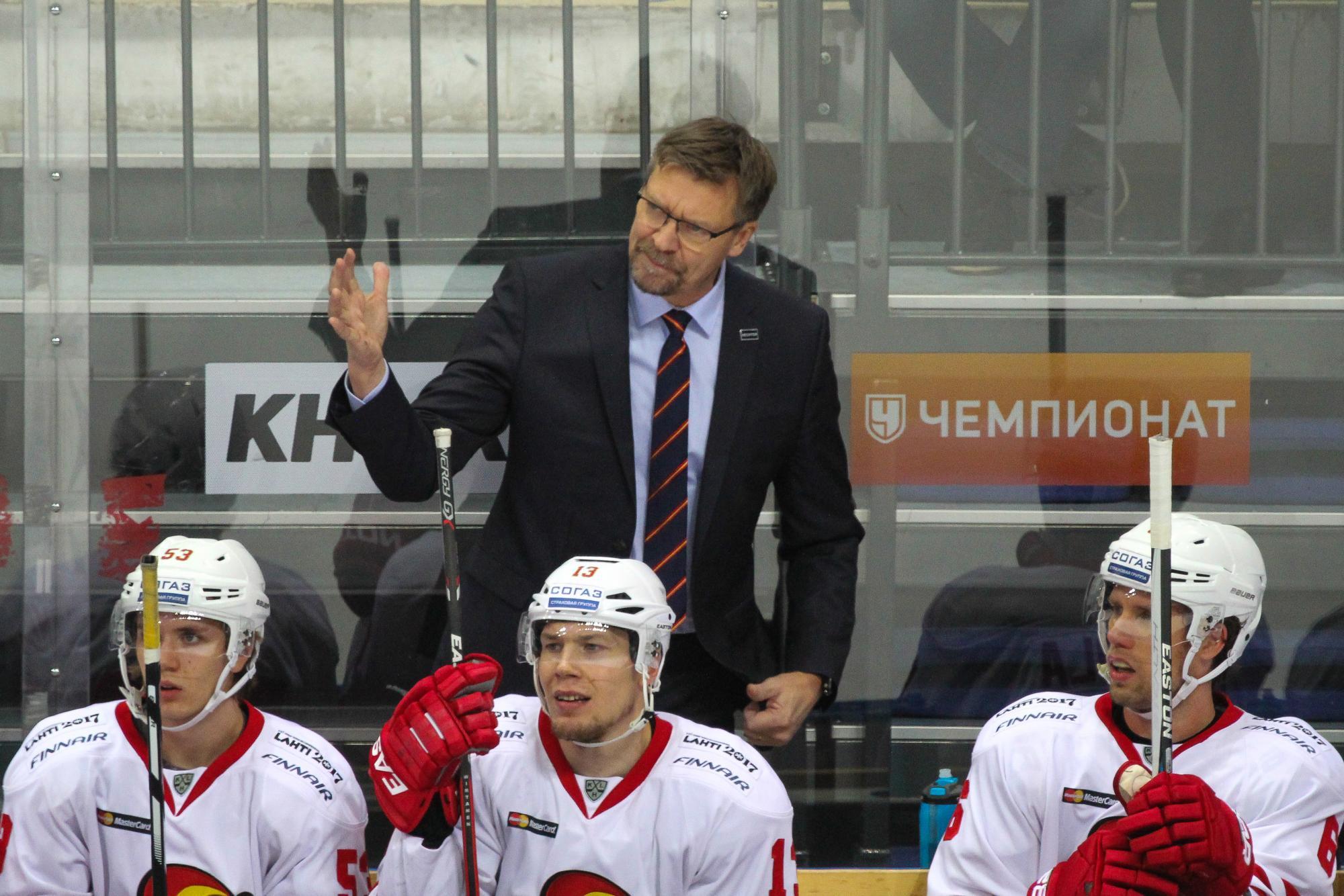 Ялонен уйдет из«Йокерита» поокончании сезона ивозглавит сборную Финляндии