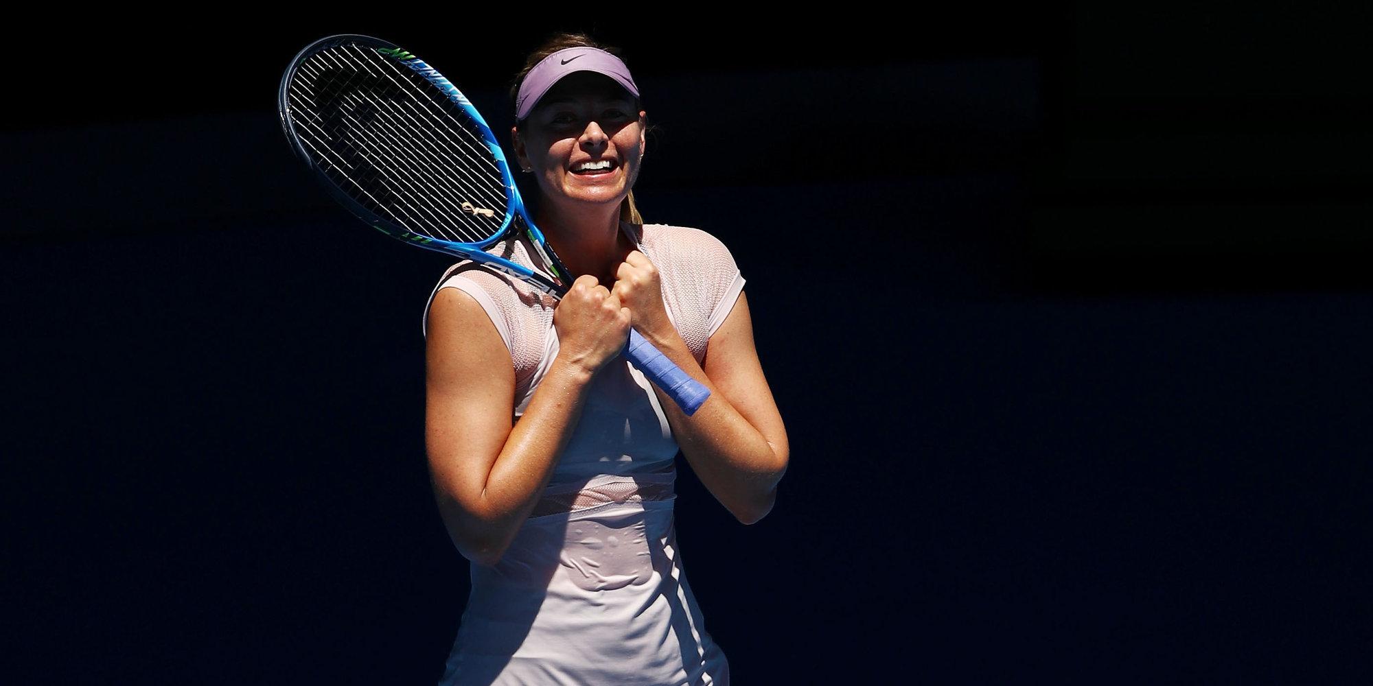 Шарапова попала в топ-3 рейтинга теннисисток с самыми большими призовыми за карьеру