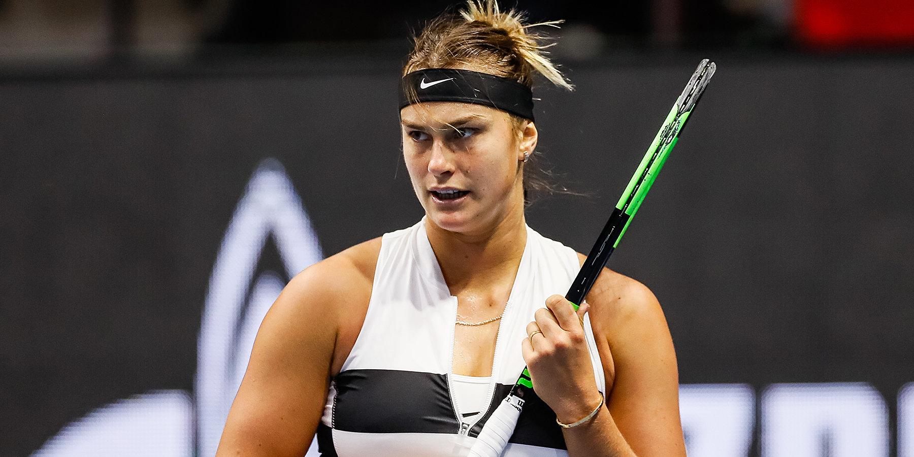 Соболенко уступила Кербер в 1/8 финала турнира в Индиан-Уэллсе