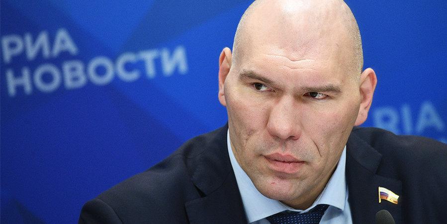 Николай Валуев: «Согласен с нашим президентом, нельзя отменять лимит на легионеров»