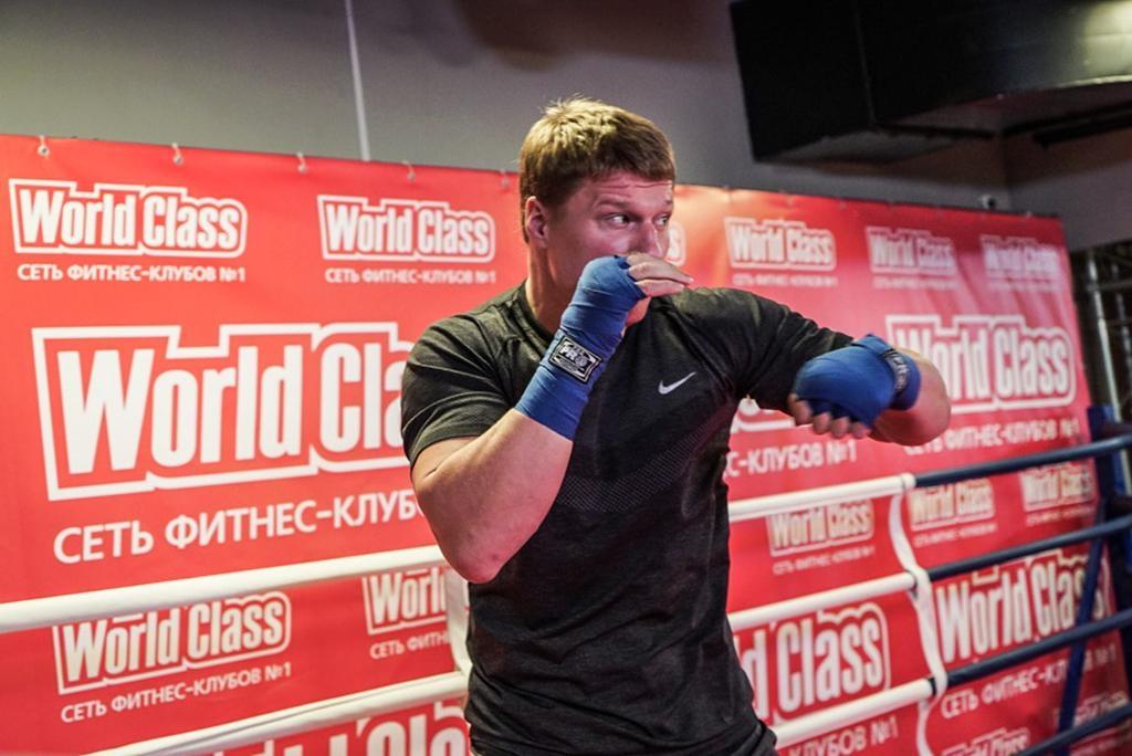 Александр Поветкин: «Руденко— опытный боксер, бой будет интересным»