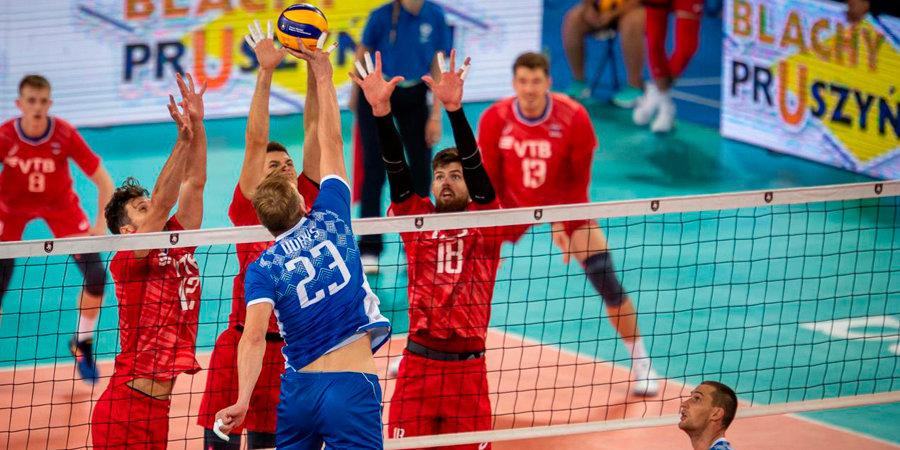 Россия обыграла Белоруссию во втором туре мужского ЧЕ