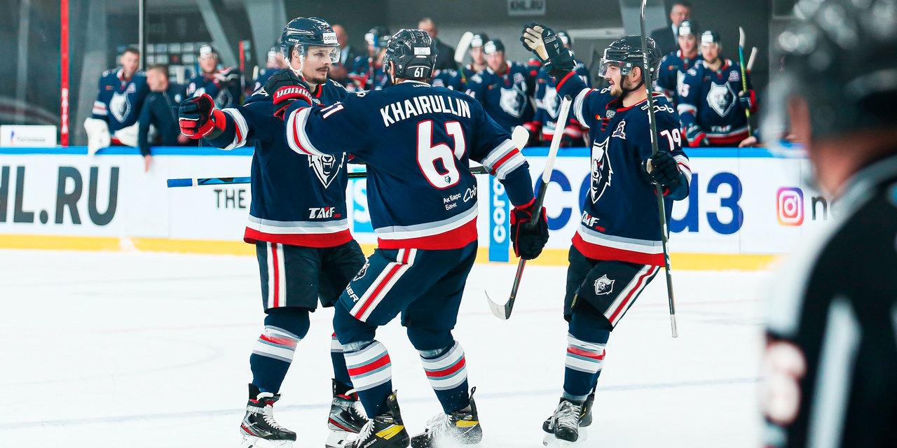 «Нефтехимик» на последней минуте игры в Минске прервал 9-матчевую серию без побед