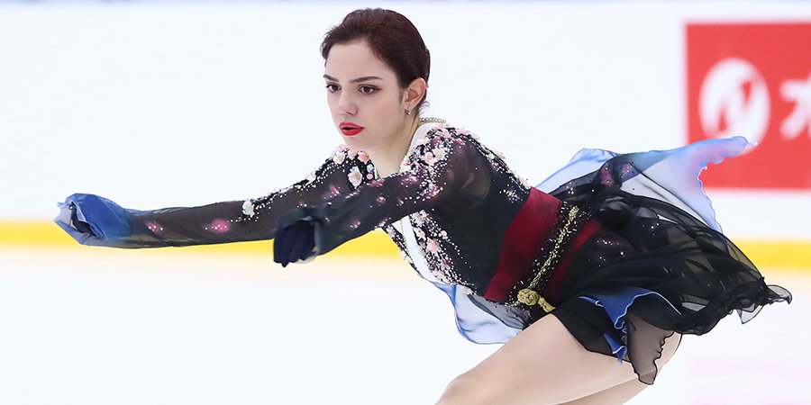 Евгения медведева заняла пятое место