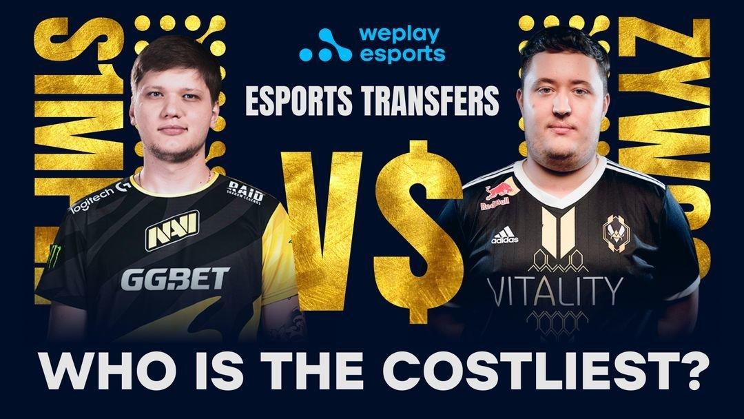 «Они похожи на Месси и Роналду». WePlay сравнили двух лучших игроков CS: GO, стоимость которых в сумме — 7,85 миллиона долларов