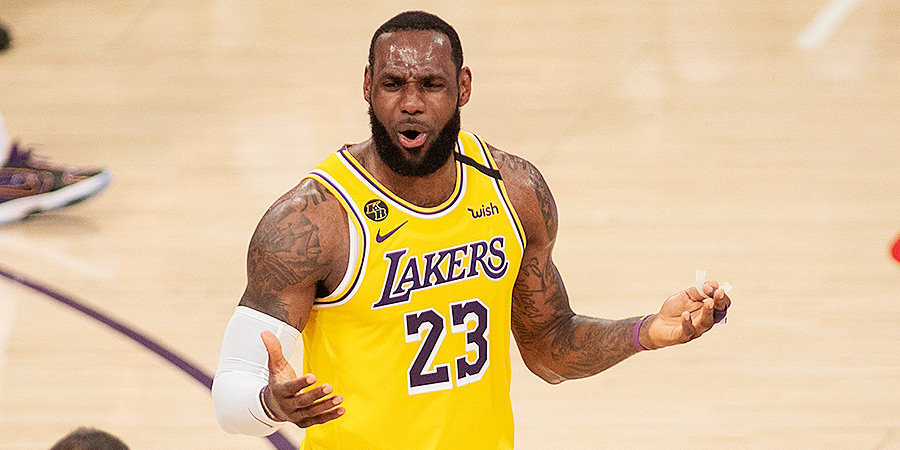 Рекорд Леброна, поражения фаворитов и привет Неймару. В НБА горячо!