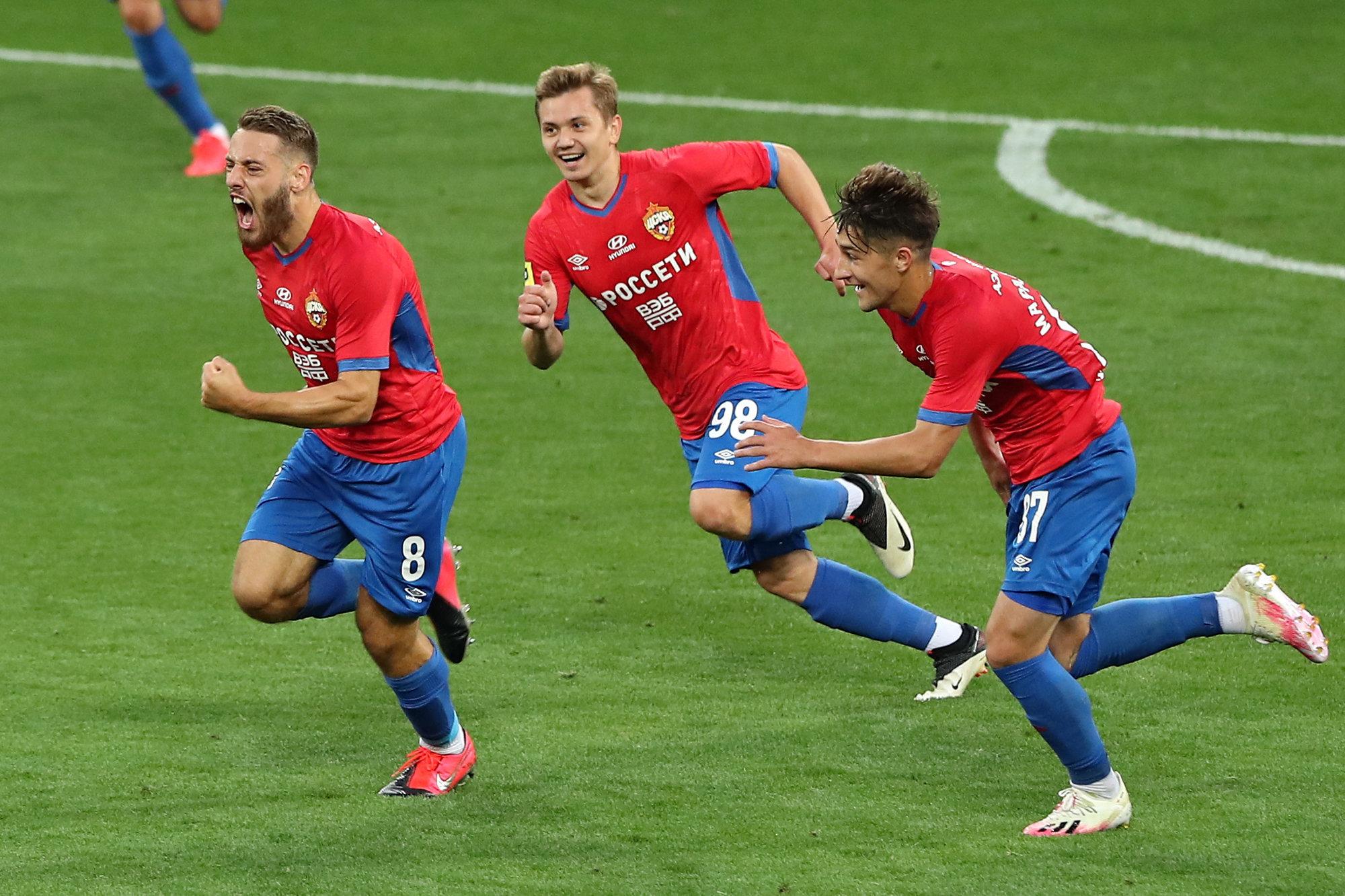 Армеец Влашич с помощью Чалова забил лучший гол 27-го тура!