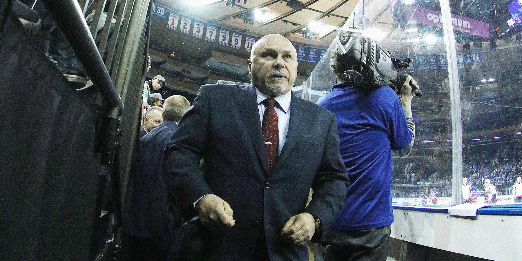 Тротц назвал Варламова лучшим игроком матча против «Нью-Джерси»