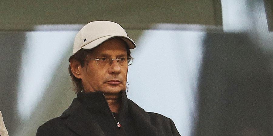 Федун прибыл на матч «Спартака» с «Химками» (видео)