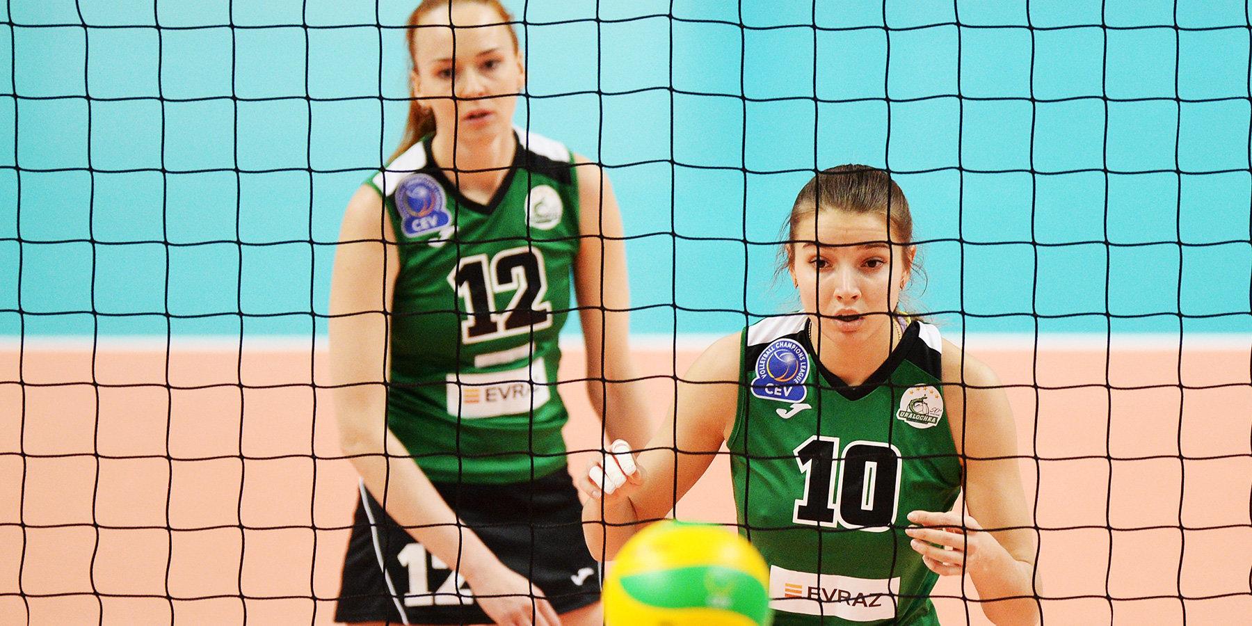 «Уралочка-НТМК» упустила первую победу в Лиге чемпионов в игре с «Канном»