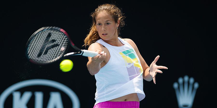 Касаткина опустилась на две позиции в рейтинге WTA