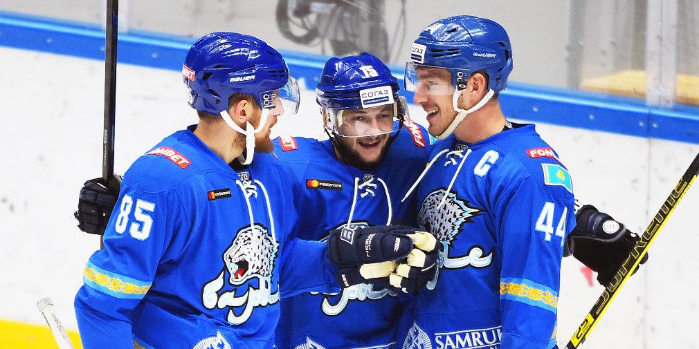 КХЛ назвала новые даты двух перенесенных матчей «Барыса»
