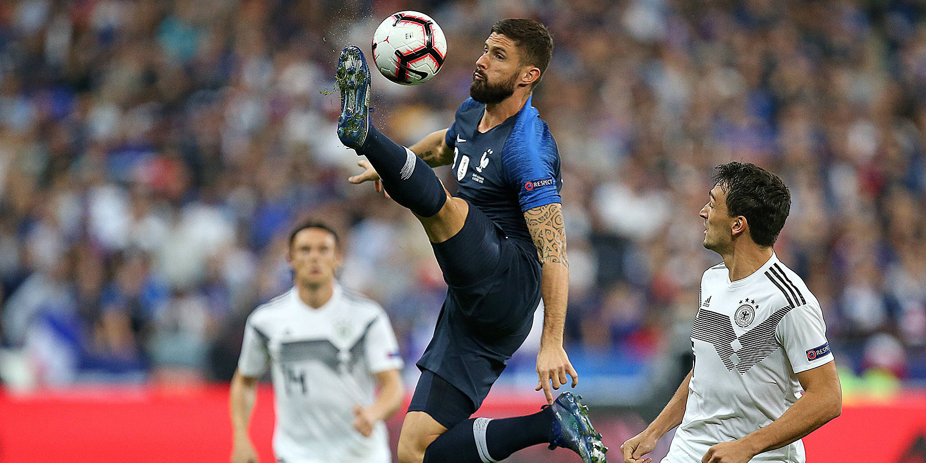 Бой за Евро: Франция против Германии