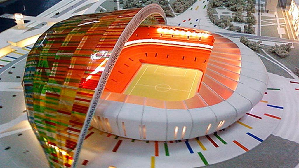 новый стадион в волгограде к чм 2018 фото
