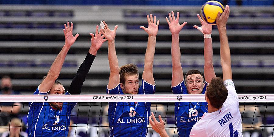 Стали известны все четвертьфинальные пары на чемпионате Европы