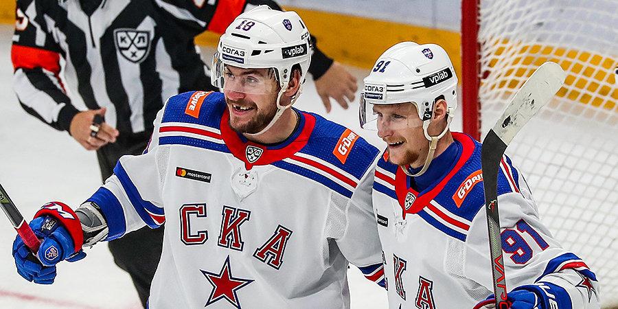 СКА победил в седьмом кряду гостевом матче противостояния с «Динамо»