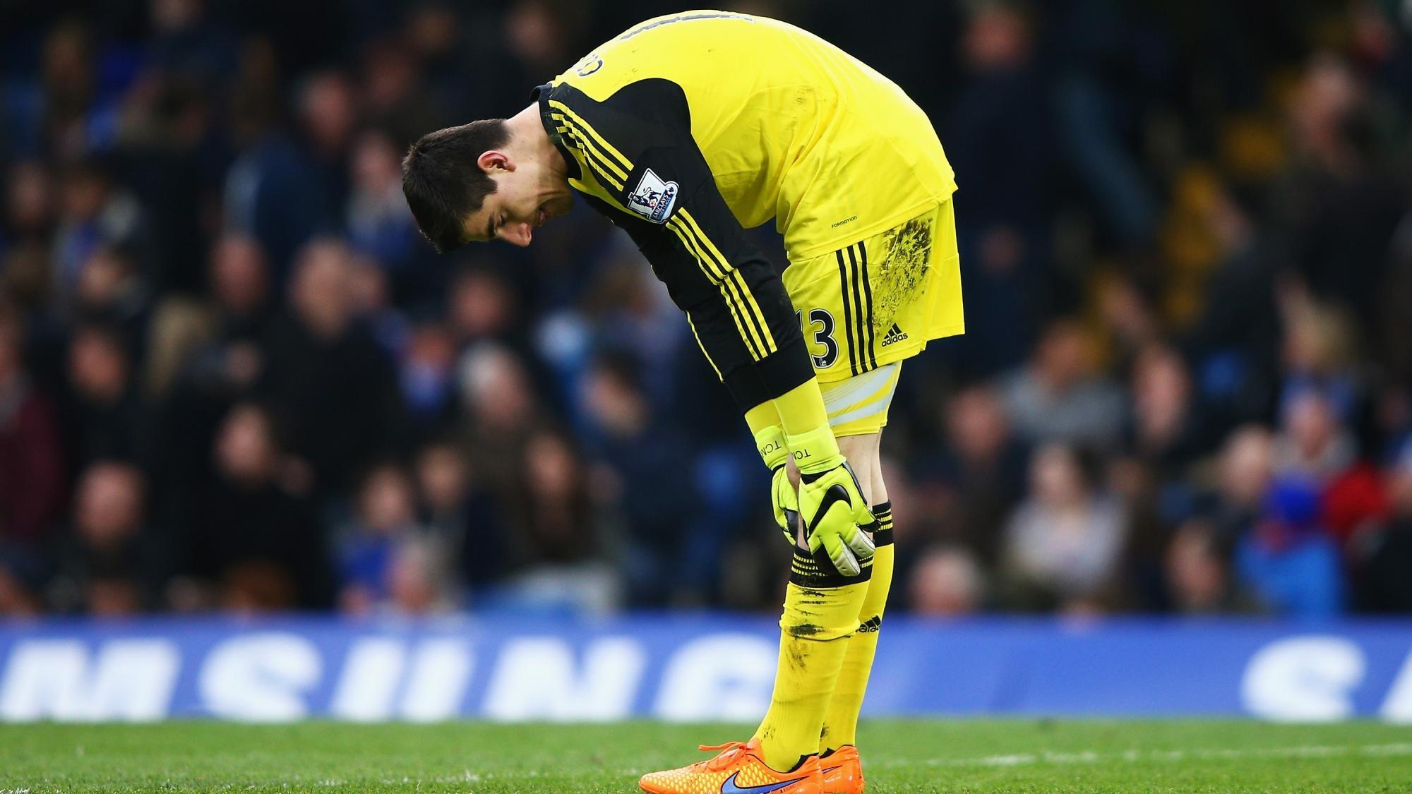 Куртуа отказался продлевать контракт наусловиях Челси— Daily Mail