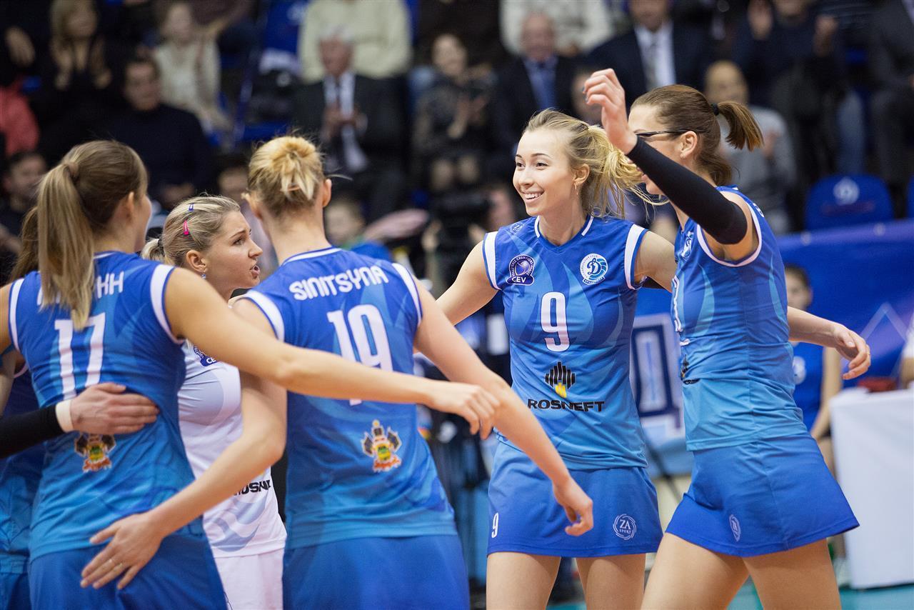 Краснодарское «Динамо» одержало победу над «Альбой» вЛиге чемпионов