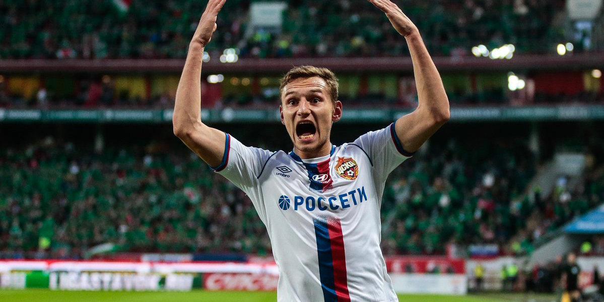 Гол Чалова спас ЦСКА от поражения в матче с «Локомотивом»