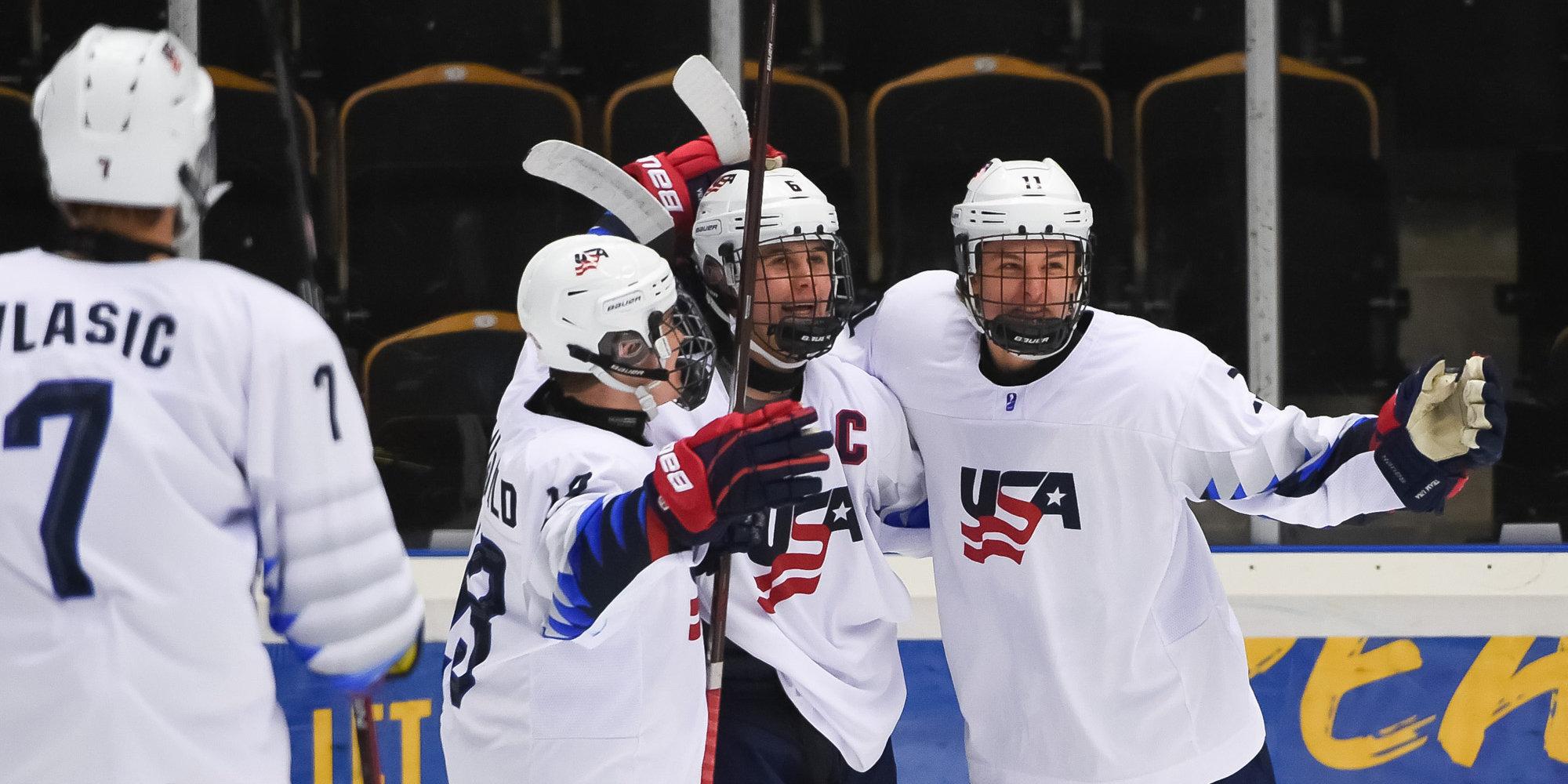 Сборная США впервые за 18 лет осталась без медалей юниорского ЧМ