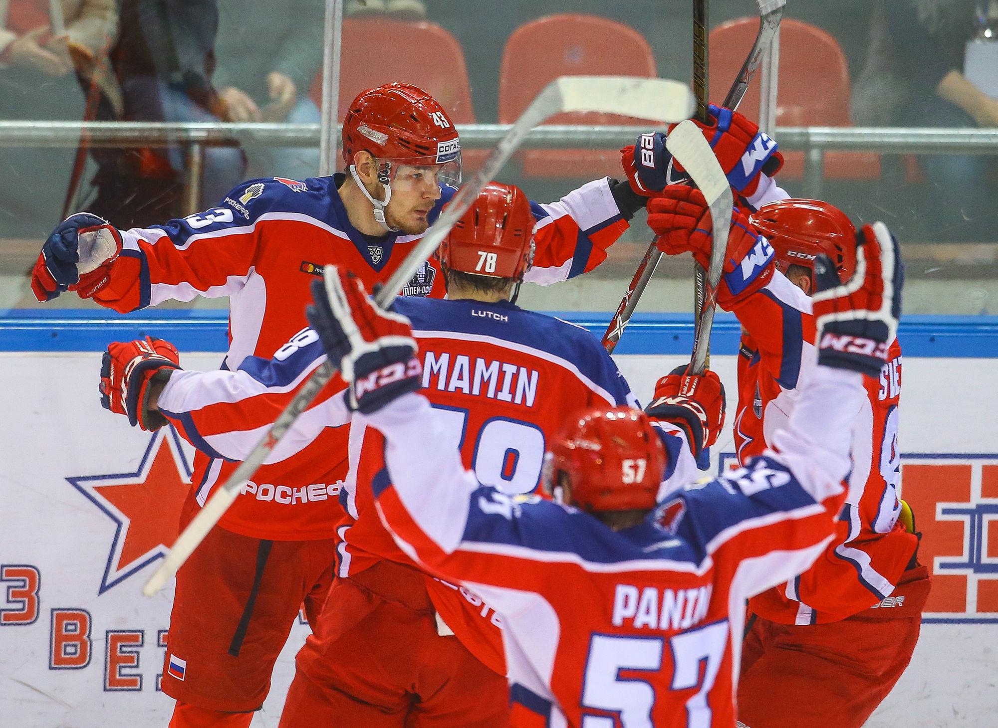 «Сибирь» крупно проиграла ЦСКА впервом матче межсезонья