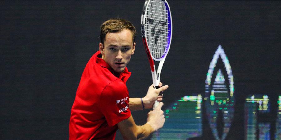 «Я просто постарался бороться за каждое очко». Медведев — о выходе в четвертьфинал «Мастерса»