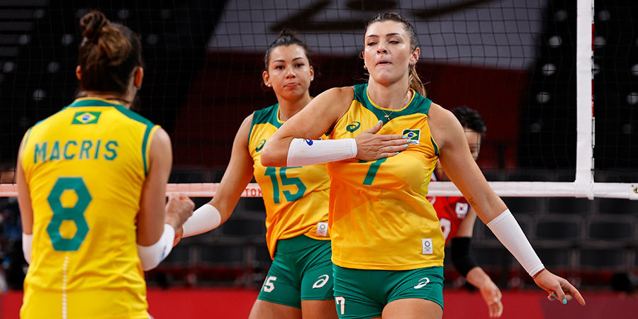Бразильские волейболистки сыграют с США в финале Олимпийских игр