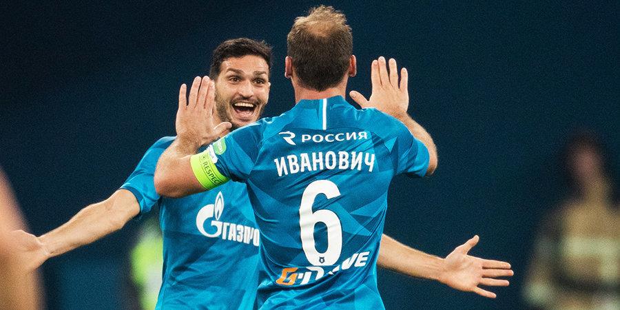 Бранислав Иванович: «Надеюсь, у этой команды «Зенита» большое будущее»
