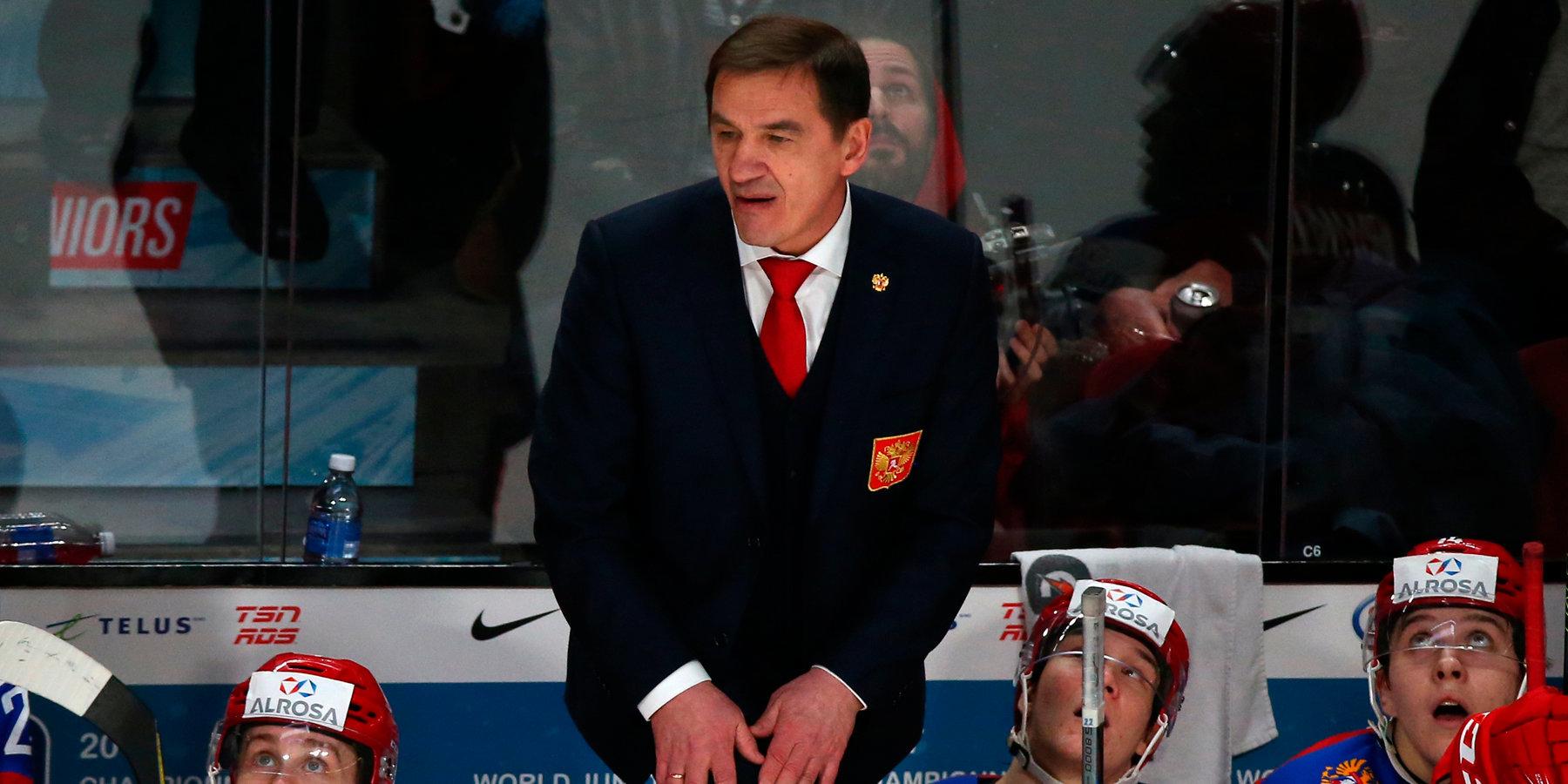 Молодежная сборная России проиграла первый матч Суперсерии