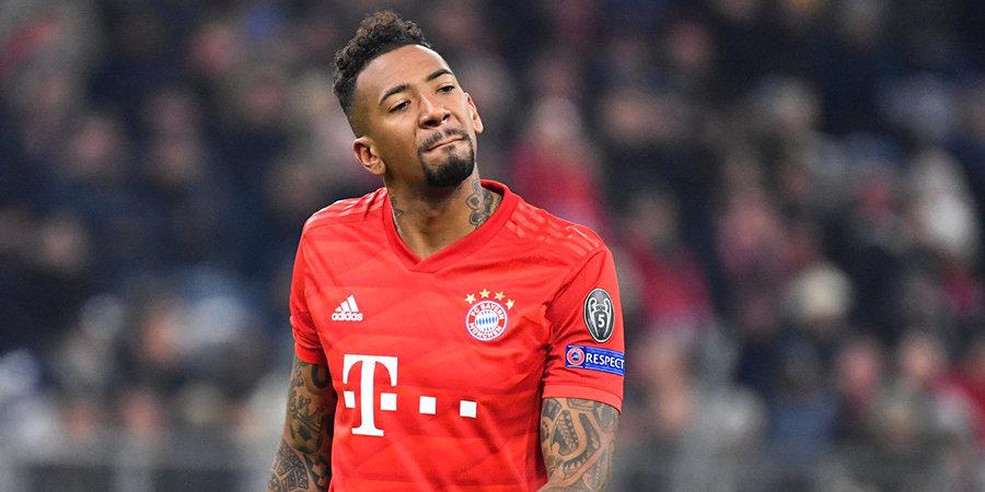 В «Баварии» подтвердили уход Боатенга в конце сезона