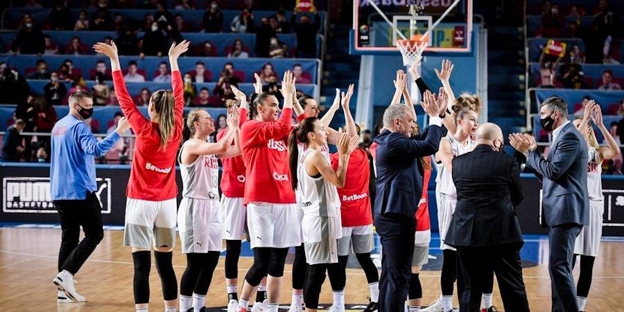 18 баскетболисток вызваны в сборную России для подготовки к Евробаскету-2021