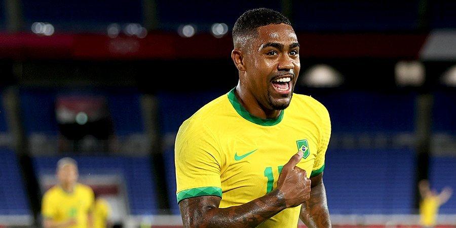 Нападающий «Зенита» Малком вызван в сборную Бразилии