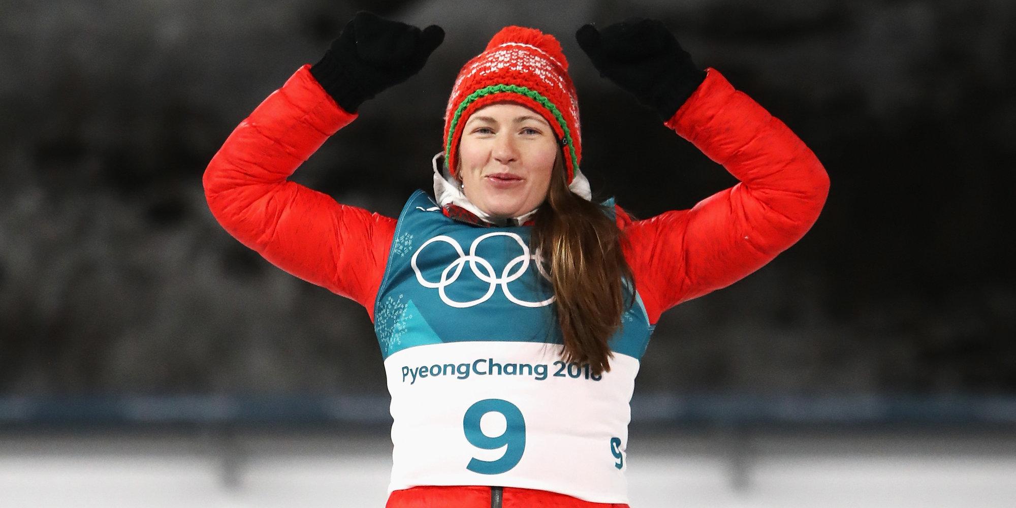 Белорусская биатлонистка Дарья Домрачева объявила озавершении карьеры