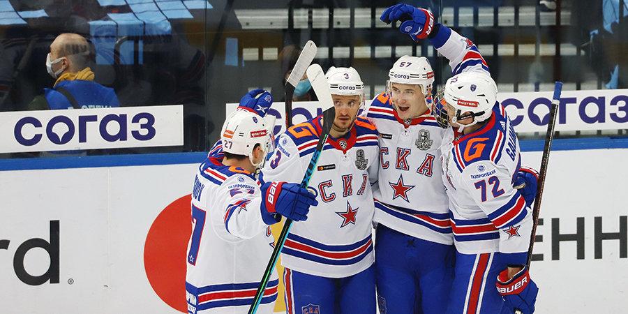 СКА одержал третью победу над минским «Динамо» в рамках плей-офф