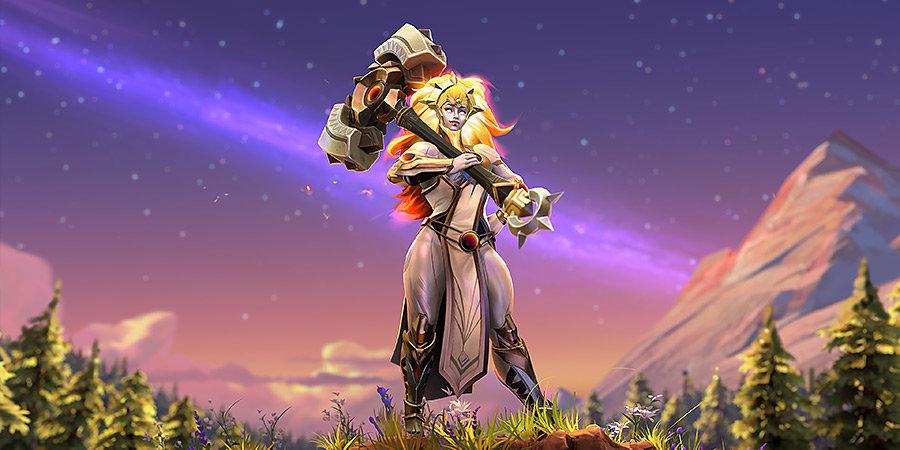 Представлен новый герой Dota 2 — Dawnbreaker