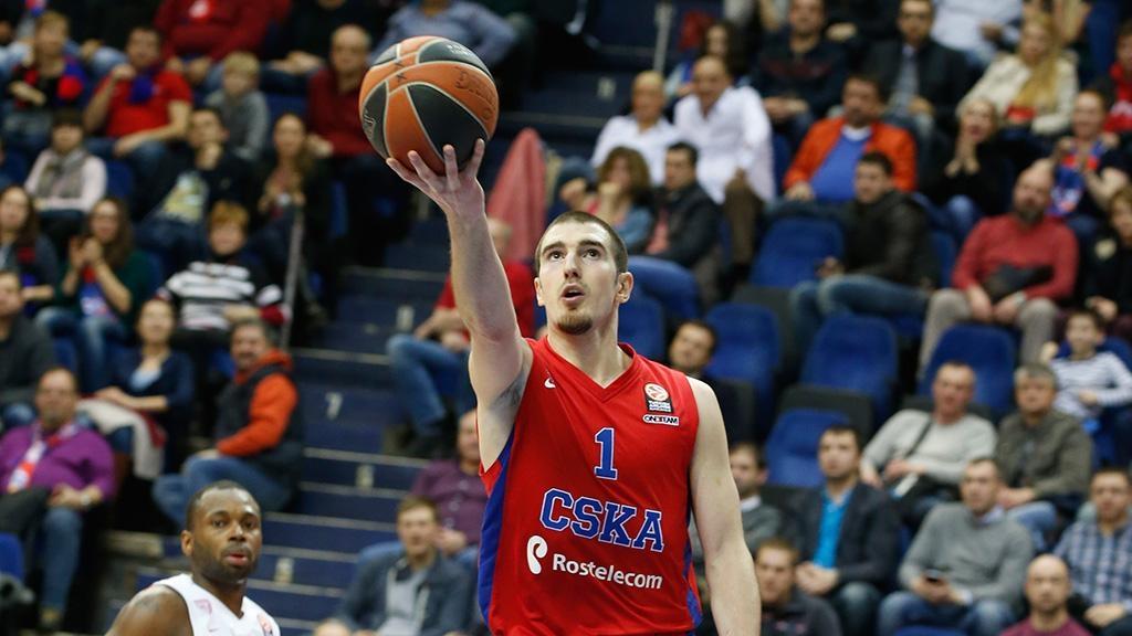 Баскетболисты ЦСКА обыграли «Црвену Звезду» вматче Евролиги