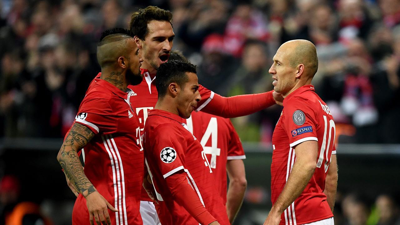 «Бавария» разгромила «Арсенал» впервом матче 1/8 финалаЛЧ