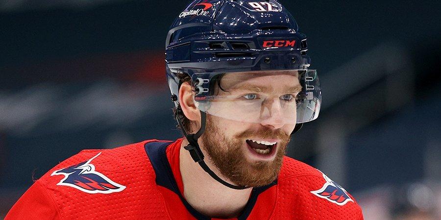 Кузнецов и Овечкин набрали четыре очка в победном матче «Вашингтона» против «Бостона»