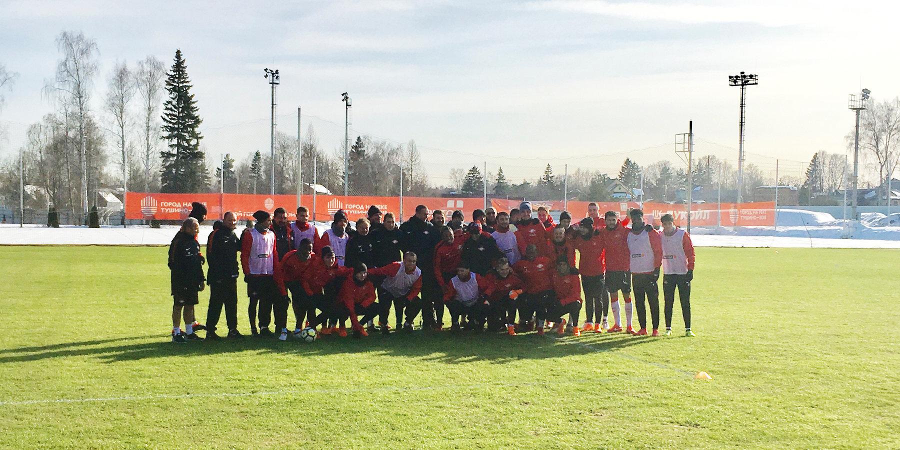 «Спартак» обыграл «Тосно» исократил отставание от«Локомотива» до 2-х очков