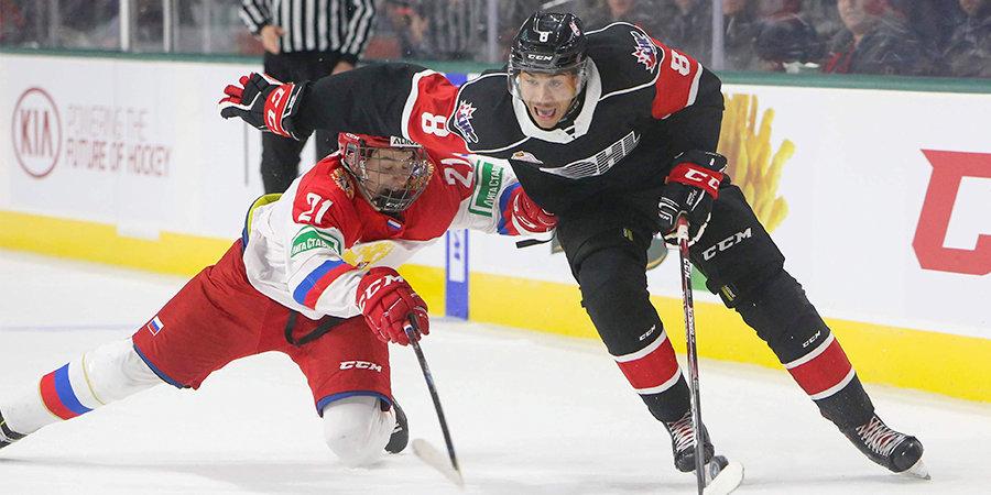 Канадцы спаслись на последней минуте и переиграли сборную России в овертайме