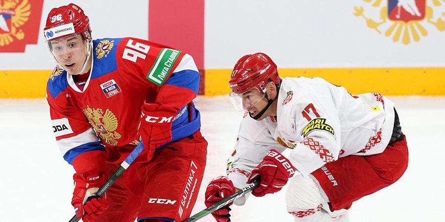 Сборная России обыграла Белоруссию в матче Еврочелленджа