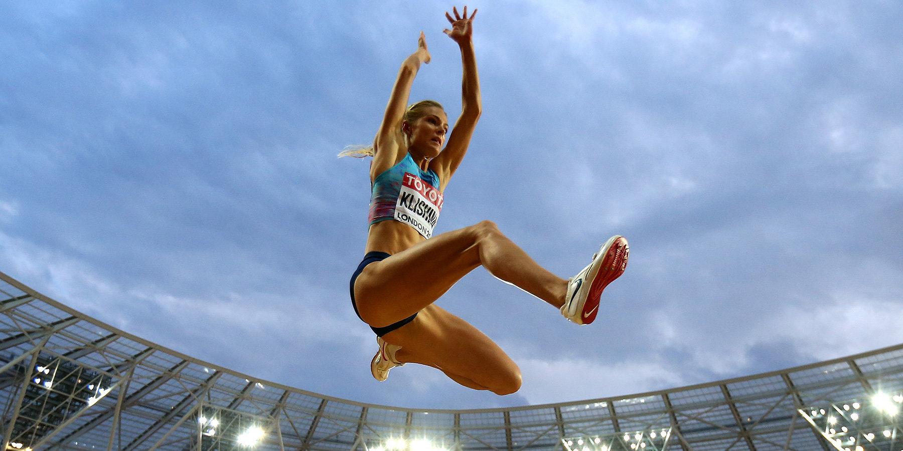 Легкоатлетке Дарье Клишиной вручили «серебро» чемпионата мира встолице Англии