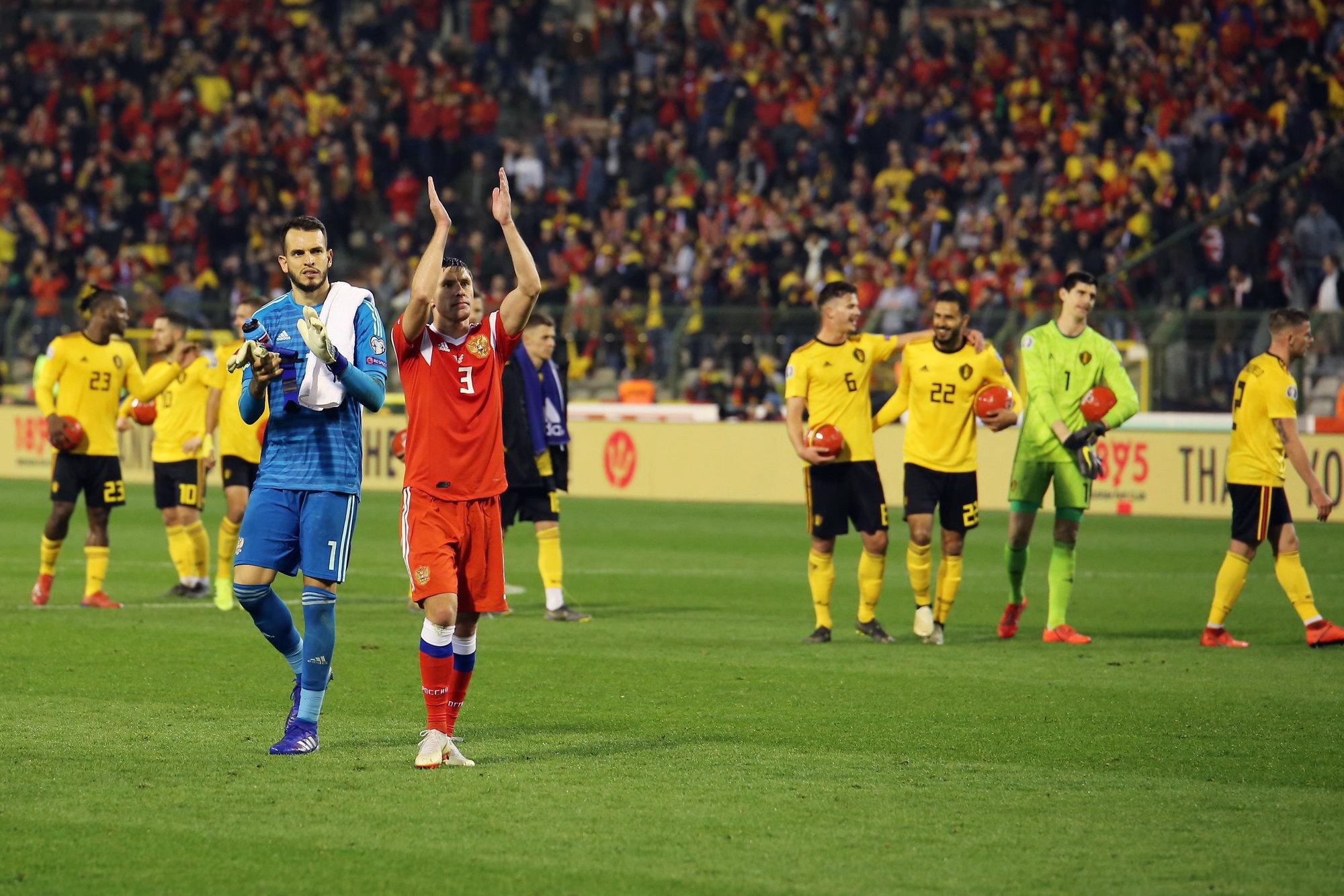 «Бельгия — бронзовый призер ЧМ, чего вы хотели?»