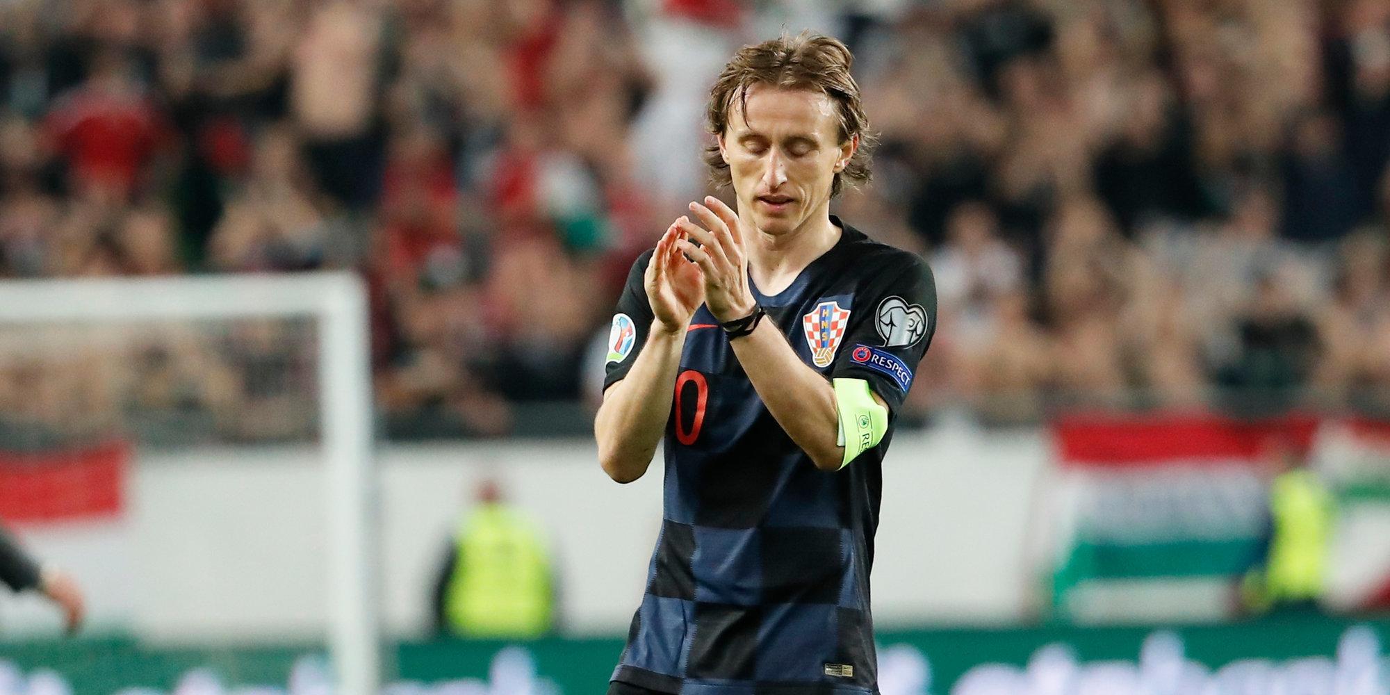 Модрич повторил рекорд Срны по количеству матчей за сборную Хорватии