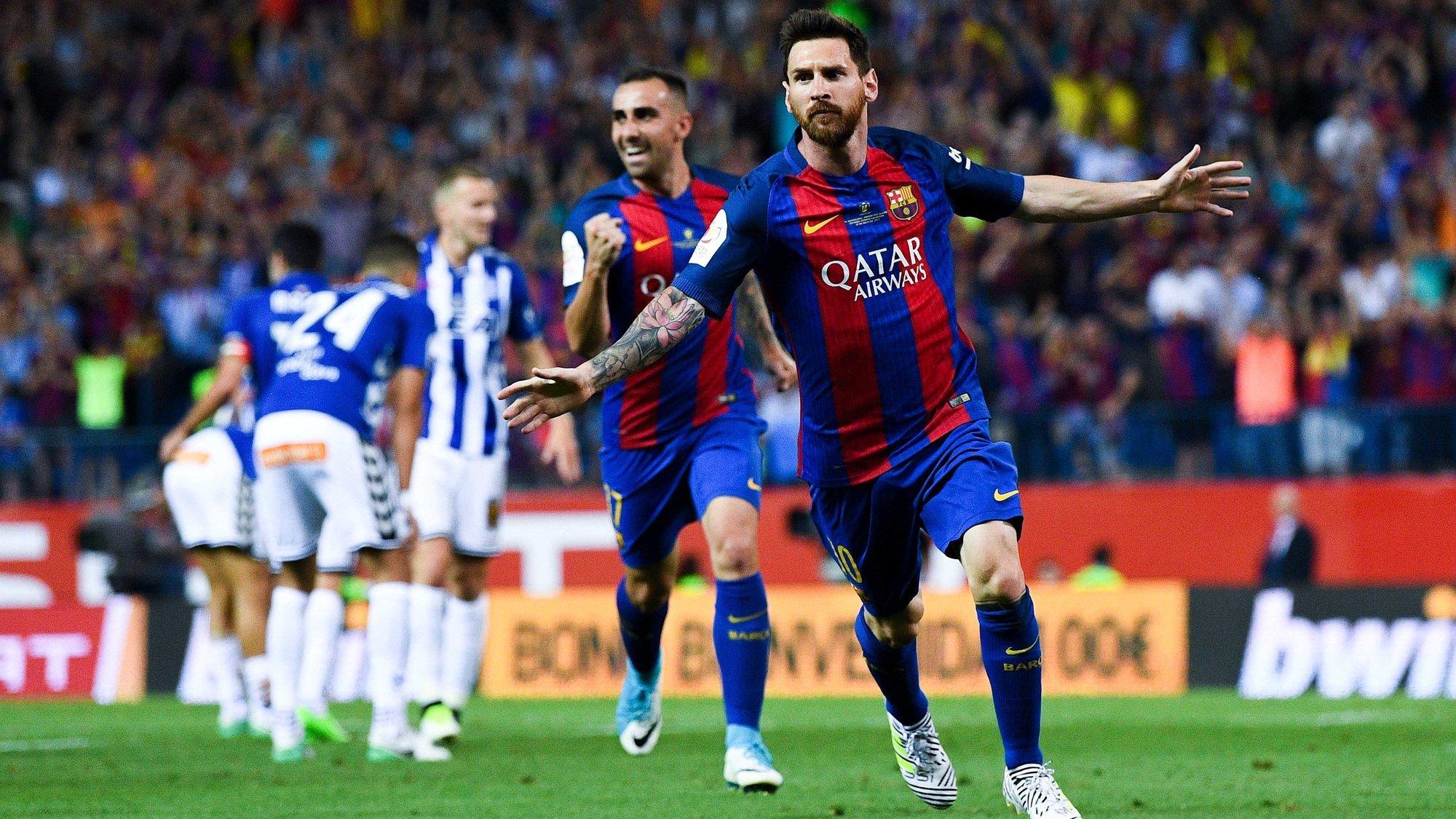 ФК «Барселона» одержал победу Кубок Испании