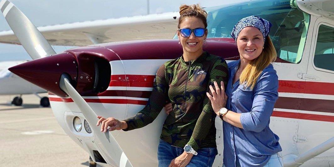 Антонина Шевченко потратила около 15 тысяч долларов на получение лицензии пилота