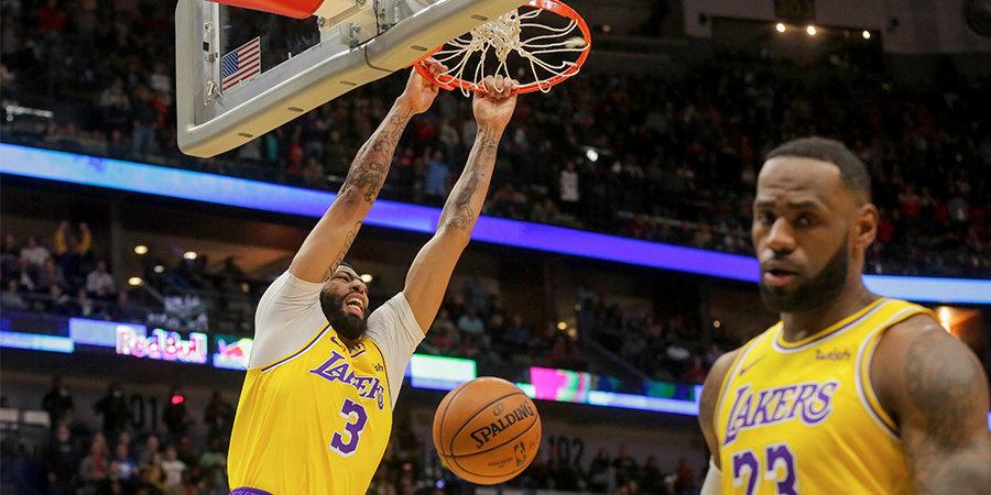 «Лейкерс» победили «Денвер», 50 очков Хардена не спасли «Хьюстон» от поражения от «Сан-Антонио»
