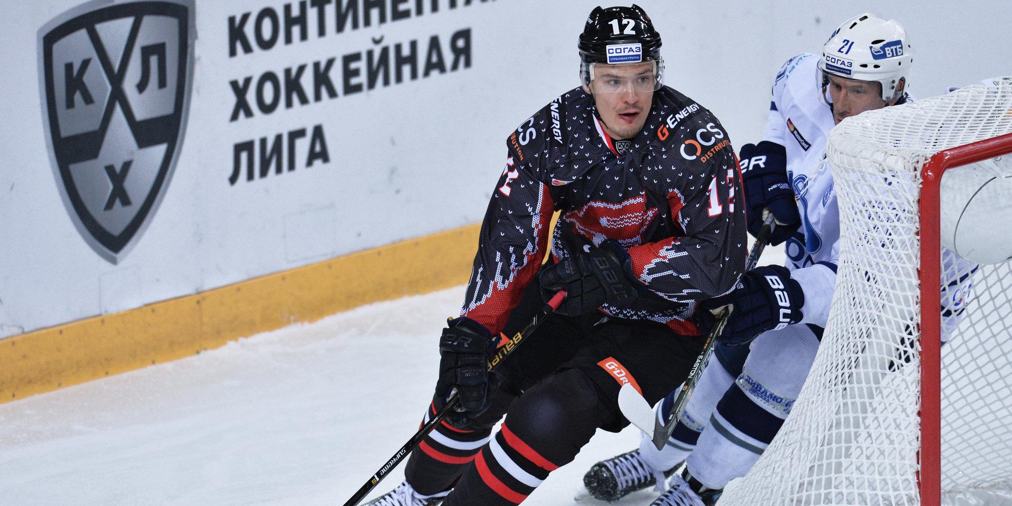 Бывший игрок «Металлурга» и «Сибири» Меньшиков перешел в австрийский клуб