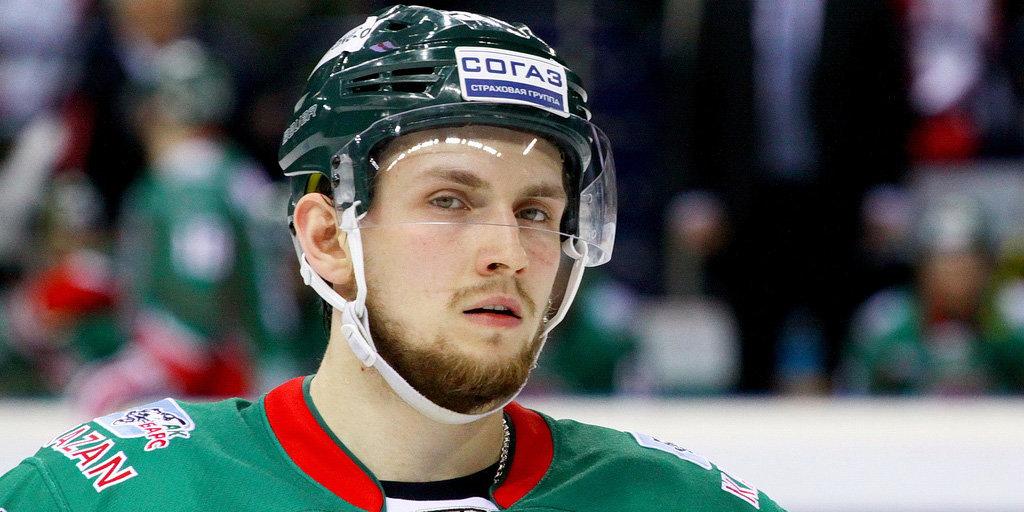 Хоккеист Данис Зарипов подписал новый договор с«АкБарсом»